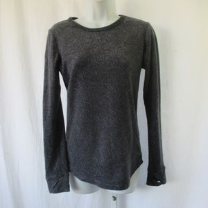 Climate Right by Cuddl Duds Sz S Gray Soft Fleece